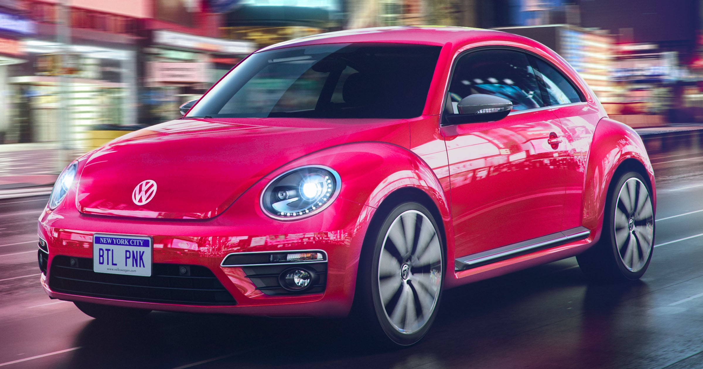 Leith Vw Cary >> A Pink Beetle It Happens In 2017